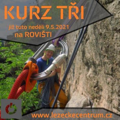 Pojď si s námi vyzkoušet lezení ve skalách - Kurz Tři na Rovišti již tuto neděli 9.5.2021