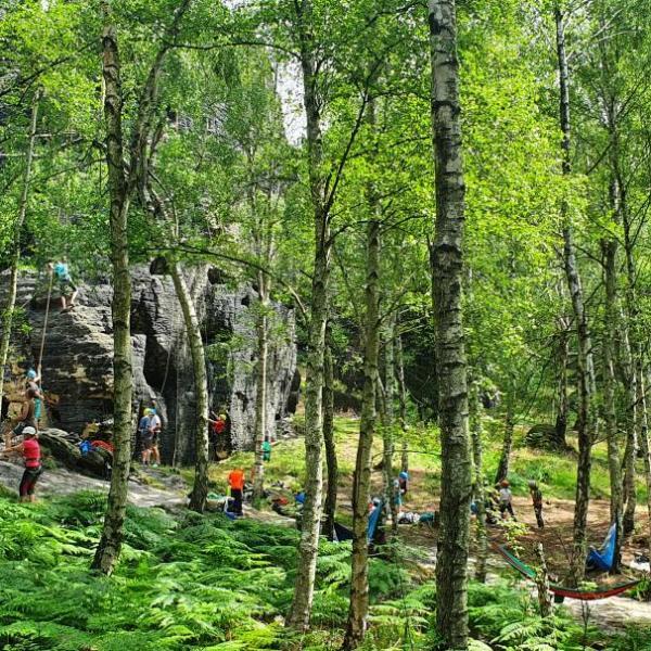 Letní tábor v Tisé